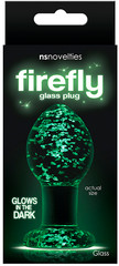 Afbeelding 2 van Firefly glass plug medium clear