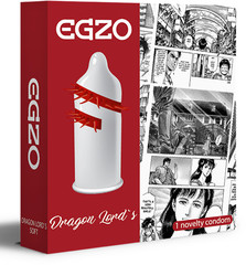 Afbeelding 2 van Egzo dragon lord stimulating condom (24 pc)