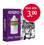 Egzo Jolly Roger condoom